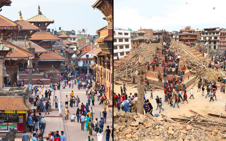 Nepal - the earthquake derailed our six month adventure
